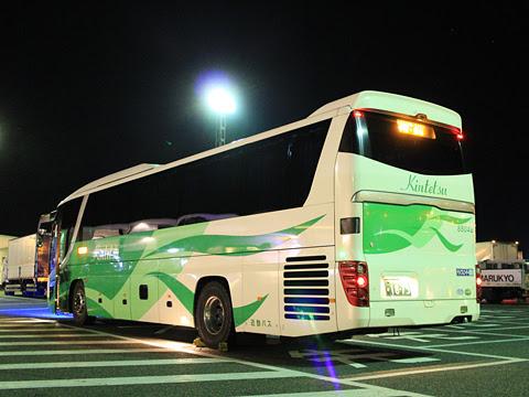 近鉄バス「しまんとブルーライナー」 8804 リア