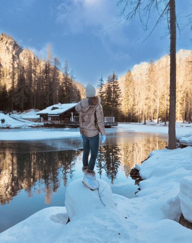 Lago ghiacciato di Muffinmella