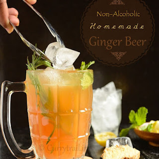 Home Made Ginger Beer (Non-alcoholic)