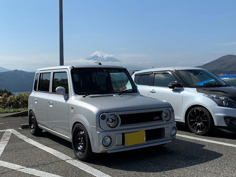 マークII JZX100のSSS(saitama street stage),箱根ターンパイク,大涌谷,芦ノ湖,富士山に関するカスタム&メンテナンスの投稿画像7枚目