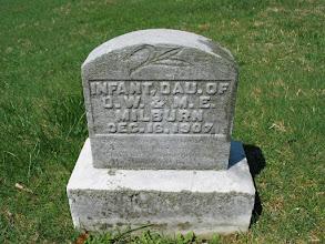 Photo: Milburn, Infant Daughter