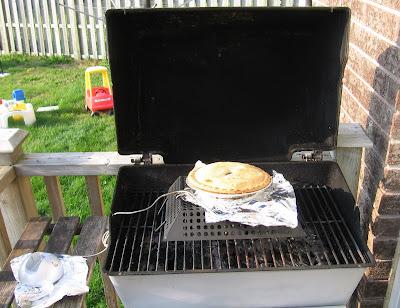 Pie on the BBQ
