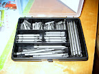 My new box of drill bits