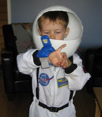 BigE with his Lunar Jim wrist communicator