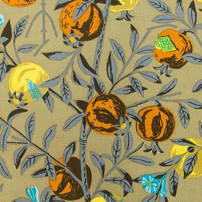 Granatäpple - oliv av Jobs Handtryck