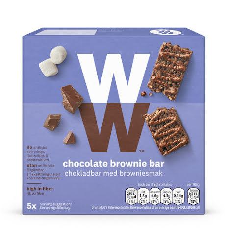 Chokladbar med browniesmak, 90g