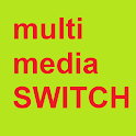 Green Multimedia Switch icon