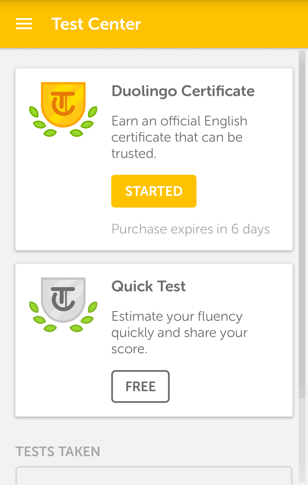 Duolingo English Test Android Reviews At Android Quality Index