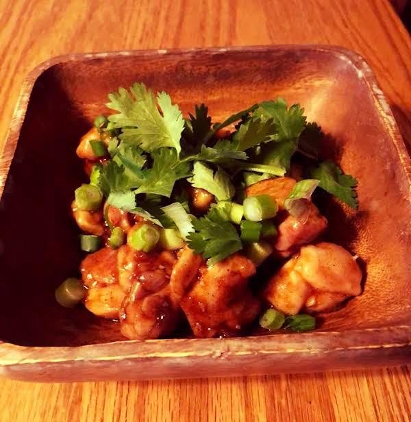 Chinese Chicken In Black Bean Sauce