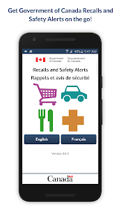 Recalls and Safety Alerts- screenshot thumbnail