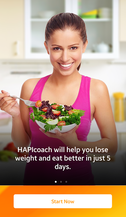 HAPIcoach - Nutrition Coaching- screenshot
