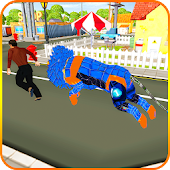 Wild Lion City Rampage 3D 2018 Android APK Download Free By Digital Royal Gaming