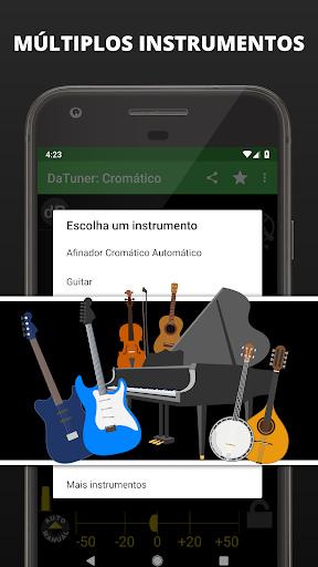 Afinador de Violao, Guitarra, Cavaquinho | DaTuner - Revenue