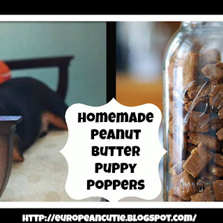 Peanut Butter Puppy Poppers