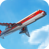 Mine Passengers: Plane Simulator - Aircraft Game
