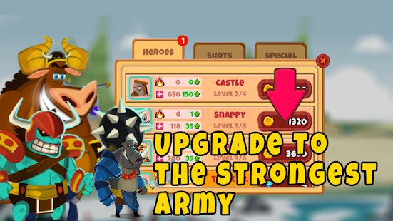 Castle Monsters: Battle of Hero Warriors for PC-Windows 7,8,10 and Mac apk screenshot 3