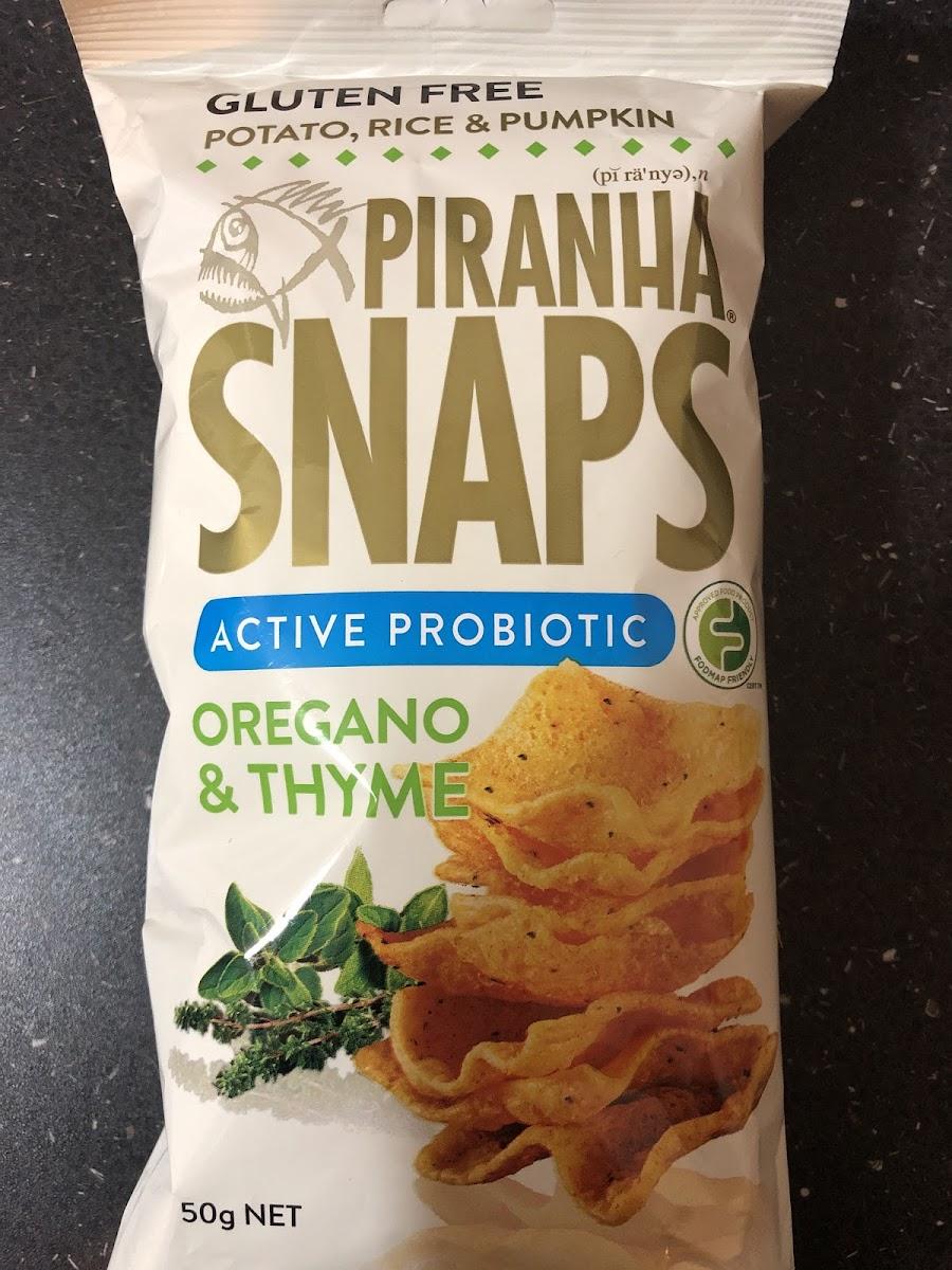 Oregano & Thyme Piranha Snaps
