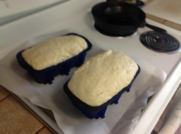 STIR the batter to deflate.  Divide the dough between the prepared pans. ...