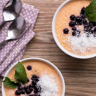 Chilled Melon & Lavender Soup
