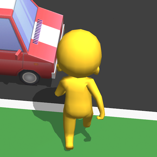 Road Race 3D Icon