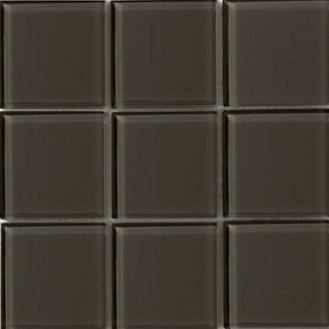 T163 gloss 98x98mm, Box 0,5m2 Lösa bitar tjocklek 8mm