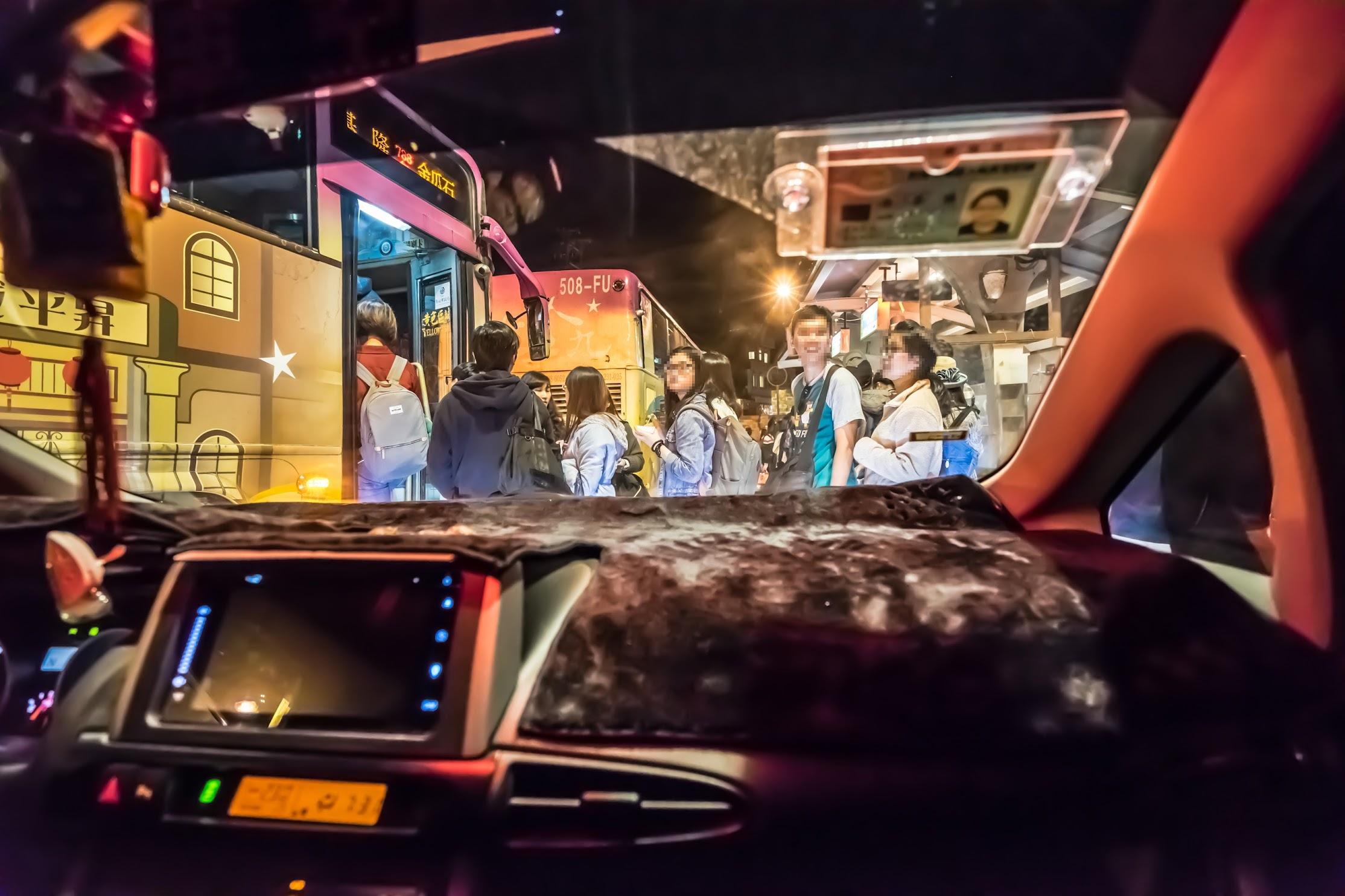Jiufen taxi