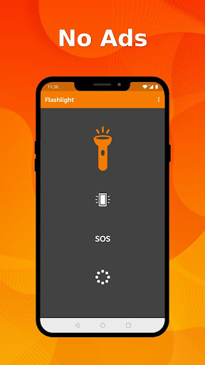 Simple Flashlight - Bright display & stroboscope 5.2.0 screenshots 1