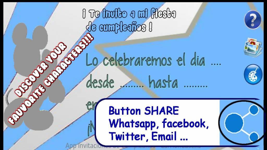 Create birthday invitations android apps on google play create birthday invitations screenshot stopboris Gallery