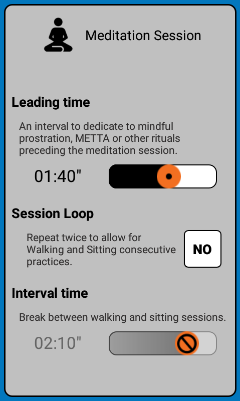 Vipassana Meditation Timer- screenshot