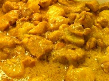 Dee's Curried Chicken With Apple Recipe