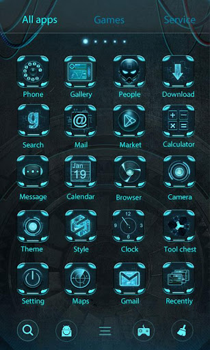 Technology GO Launcher Theme  screenshots 3