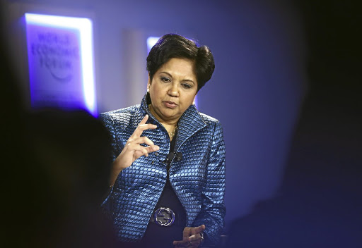 Outgoing Pepsi CEO Indra Nooyi. Picture: REUTERS