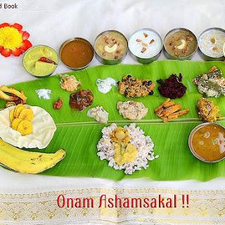 Onam Sadya Recipes/Ideas-Kerala Lunch Menu
