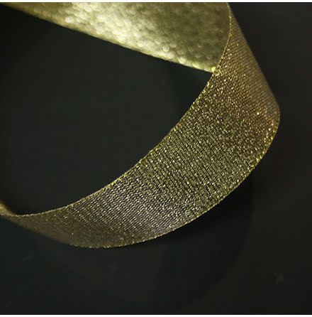 Glitterband Guld - flera bredder