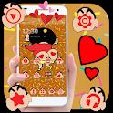 Cute Kawaii Cartoon Theme icon
