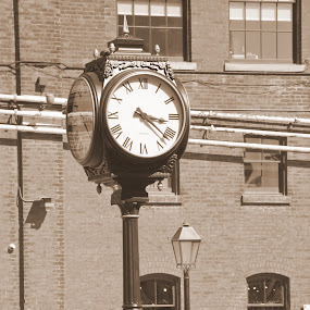 The Time of Our Lives (3:23) by Dave Reece - People Couples ( pwcclocks, toronto, distilllery district, clocks )