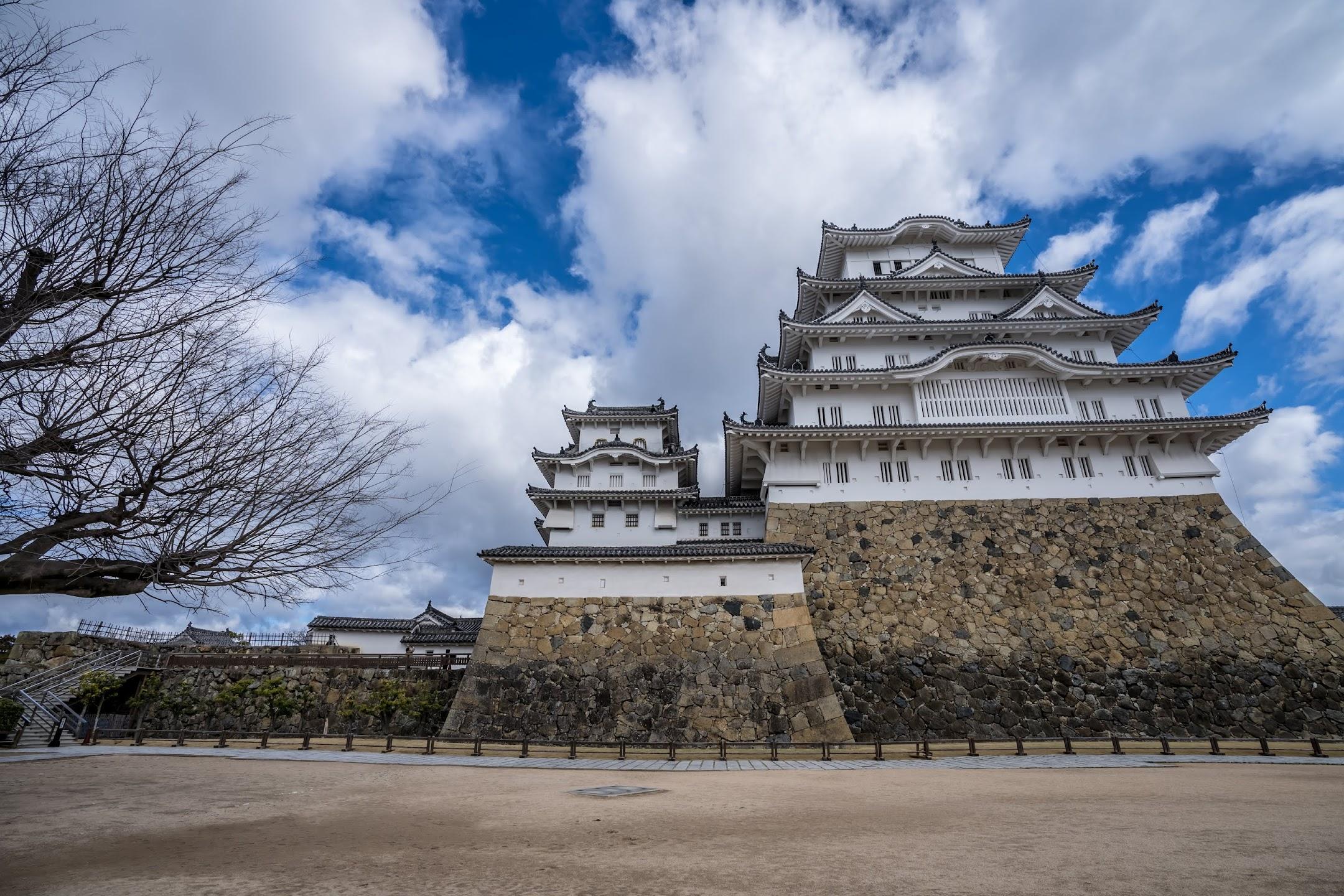 Himeji Castle castle tower2