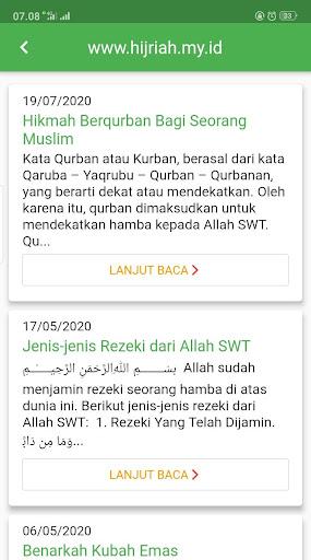 KALENDER HIJRIAH - Puasa Sunnah, Jadwal Shalat 1.2.5 screenshots 7