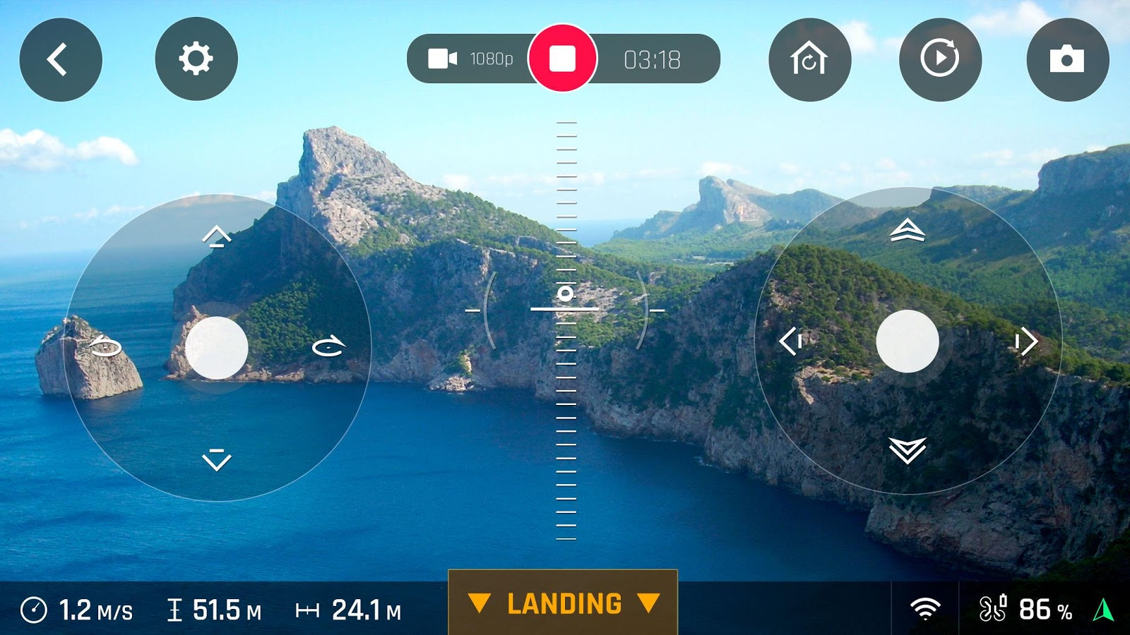 FreeFlight Pro – Screenshot