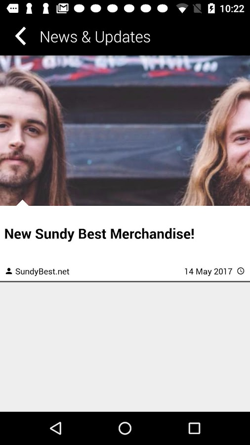 Sundy Best Mobile App- screenshot