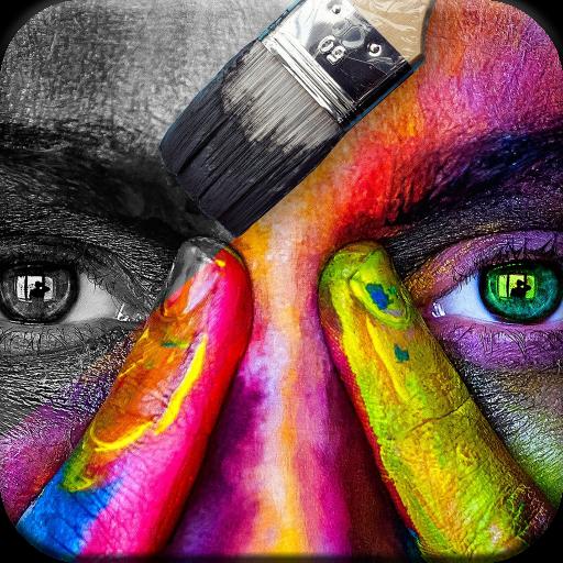 Color on Photos Icon