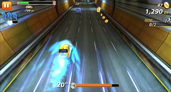 Racing 3D - Speed up - náhled