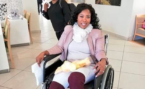 Skolopad was recently discharged from hospital after her accident.