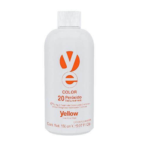 agua oxigenada yellow 20vol 150ml