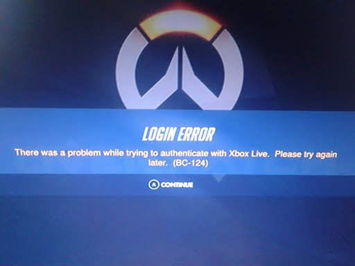 "[Solved] How to Fix Blizzard Overwatch Login Error BC-124 ""There was a problem while trying to authenticate with Xbox Live"""