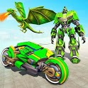 Deadly Flying Dragon Attack : Robot Games icon