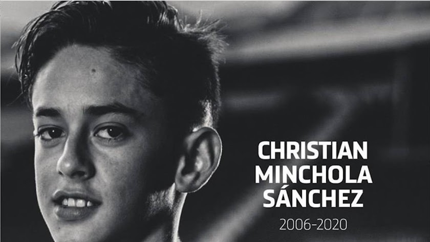 Christian Minchola falleció este sábado.