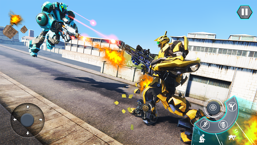 Us Army Robot FPS Shooting Strike Game 3D 2020 android2mod screenshots 3