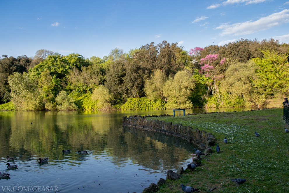 Парк в Риме