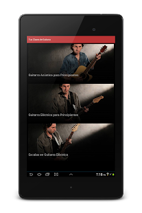 Tus Clases de Guitarra TCDG- screenshot thumbnail